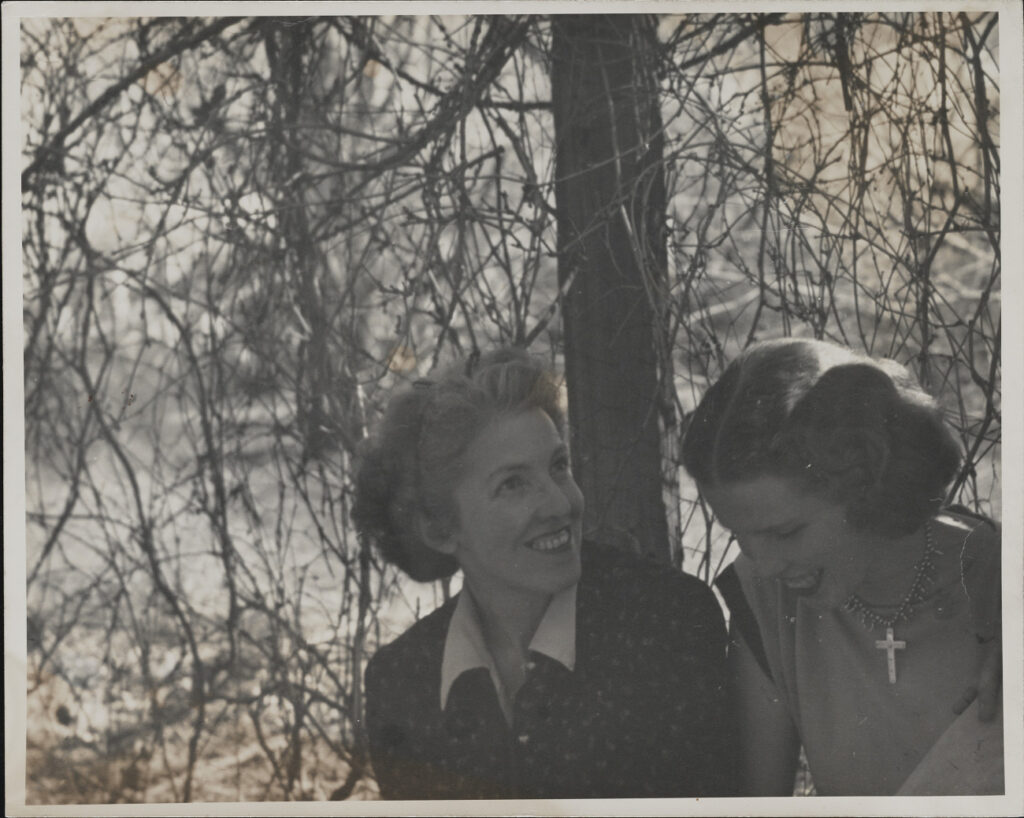 Louise Ronnebeck and Ursula Ronnebeck, c1950s