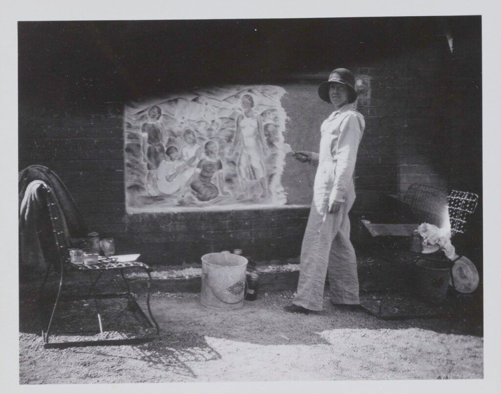 Louise Ronnebeck, Kent School for Girls, 1933