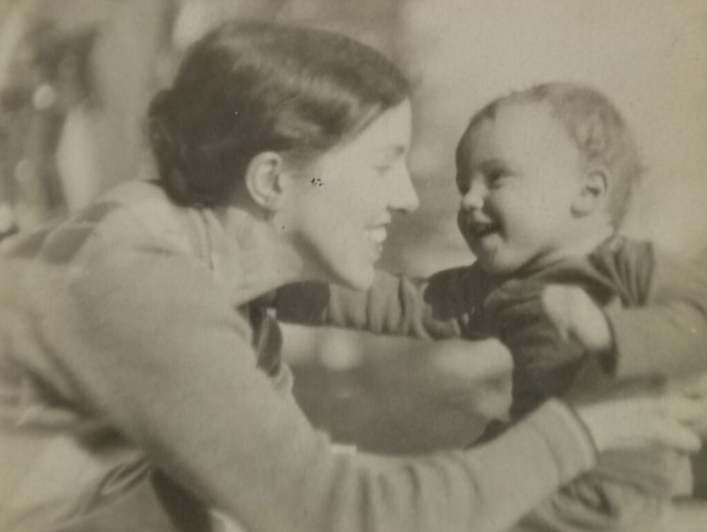 Louise Ronnebeck and Arnold Emerson Ronnebeck, c1928