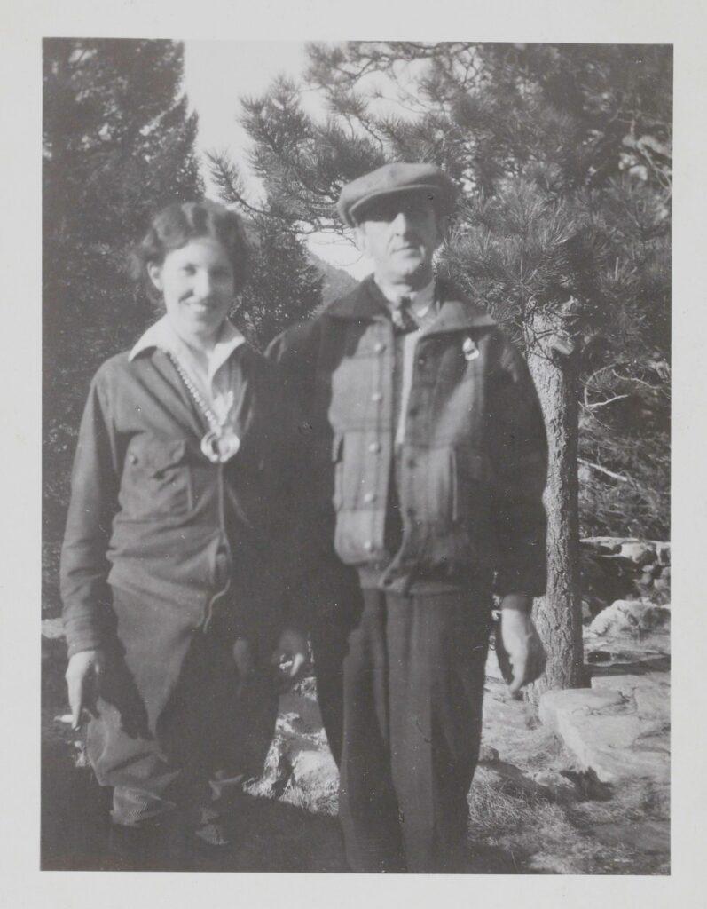 Louise Ronnebeck and Marsden Hartley, 1928