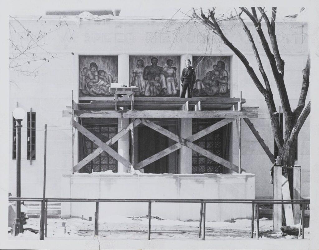 Louise Ronnebeck, Robert Speer Memorial Hospital for Children, 1940